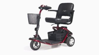 3Wheels Electric Scooter Review GL110 GOLDEN LITERIDER