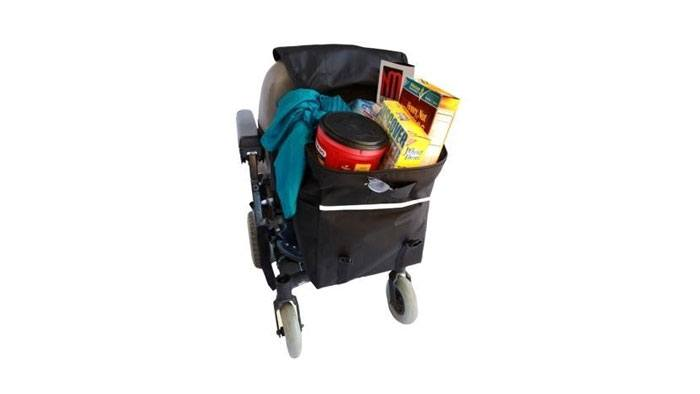 Best Wheelchair Accessories - Monster Scooter Seatback Bag B1113